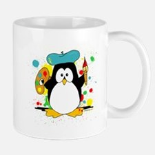 Artistic Penguin Mug