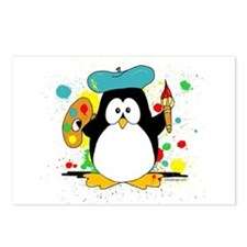 Artistic Penguin Postcards (Package of 8)