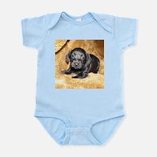 Black Puppy Infant Bodysuit