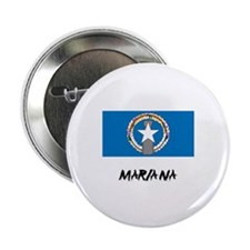 "Mariana Flag 2.25"" Button"