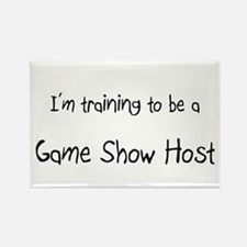 I'm training to be a Game Show Host Rectangle Magn