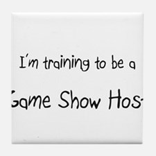 I'm training to be a Game Show Host Tile Coaster