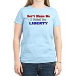 Voted for Liberty Women's Light T-Shirt