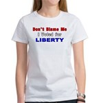 Voted for Liberty Women's T-Shirt