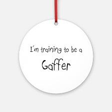 I'm training to be a Gaffer Ornament (Round)