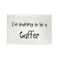 I'm training to be a Gaffer Rectangle Magnet