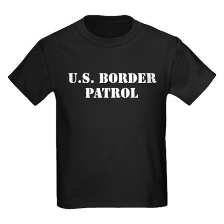 U.S. Border Patrol Kids Dark T-Shirt