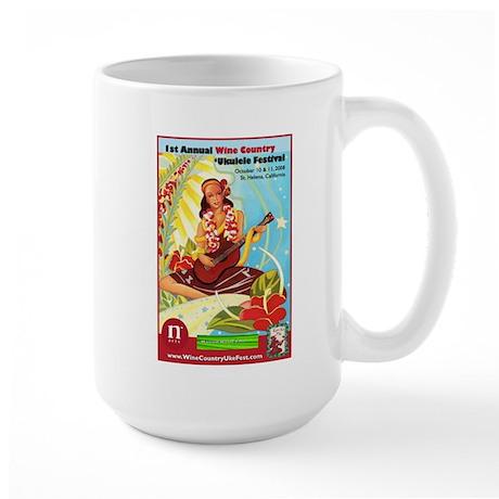 2008 Wine Country 'Ukulele Fe Large Mug