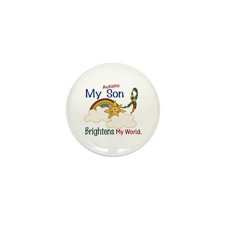 Brightens World 1 (A Son) Mini Button