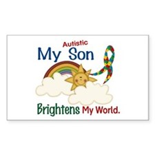 Brightens World 1 (A Son) Rectangle Decal