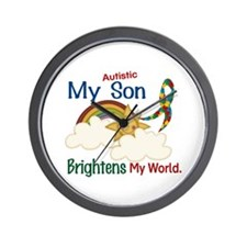 Brightens World 1 (A Son) Wall Clock