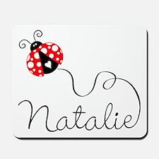 Ladybug Natalie Mousepad