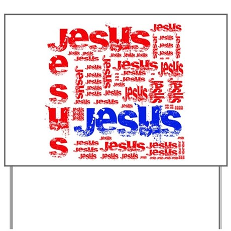 Jesus Yard Sign