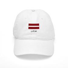 Latvia Flag Baseball Cap