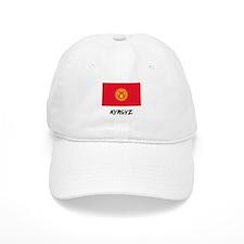 Kyrgyz Flag Baseball Cap