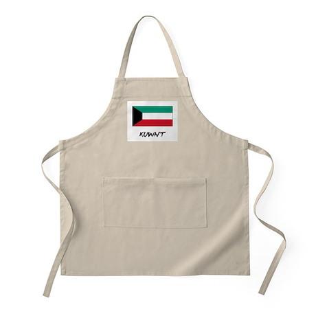 Kuwait Flag BBQ Apron