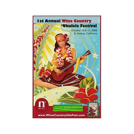 2008 Wine Country 'Uke Fest Magnet