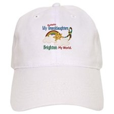 Brighten World 1 (A Granddaughters) Baseball Cap