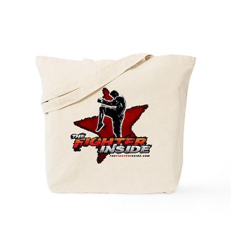 TheFighterInside.com Tote Bag