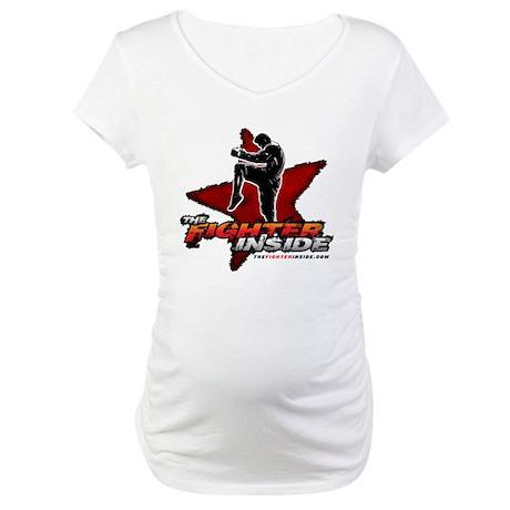 TheFighterInside.com Maternity T-Shirt
