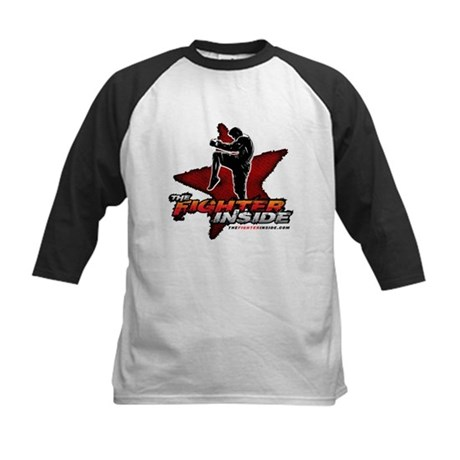 TheFighterInside.com Kids Baseball Jersey