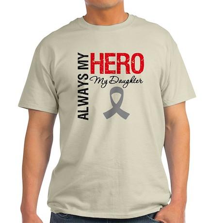 Brain Cancer Daughter Light T-Shirt
