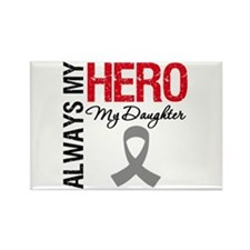 Brain Cancer Daughter Rectangle Magnet