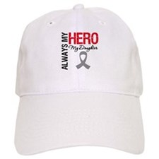Brain Cancer Daughter Baseball Cap