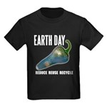 Earth Day Global Warming Kids Dark T-Shirt