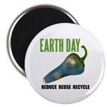 Earth Day Global Warming Magnet