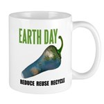 Earth Day Global Warming Mug
