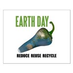 Earth Day Global Warming Small Poster