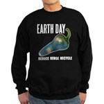 Earth Day Global Warming Sweatshirt (dark)