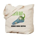 Earth Day Global Warming Tote Bag