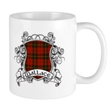 Wallace Tartan Shield Coffee Mug