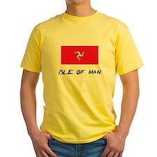 Isle Of Man Flag T