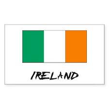 Ireland Flag Rectangle Decal