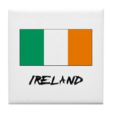 Ireland Flag Tile Coaster