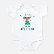 Big Sister Finally Infant Bodysuit