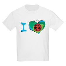 I heart ladybugs T-Shirt