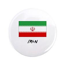 "Iran Flag 3.5"" Button"