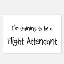 I'm training to be a Flight Attendant Postcards (P