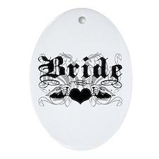 Bride Oval Ornament