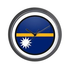 Nauru Wall Clock