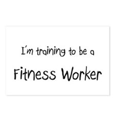 I'm training to be a Fitness Worker Postcards (Pac