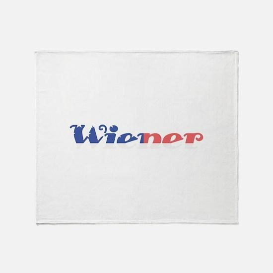Wiener Throw Blanket