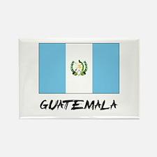 Guatemala Flag Rectangle Magnet
