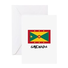 Grenada Flag Greeting Card