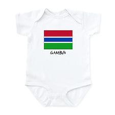 Gambia Flag Onesie