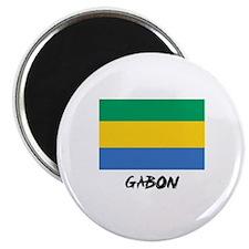 Gabon Flag Magnet
